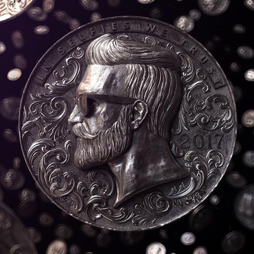 D'Avila Studio – 3D – Contemporary coins I
